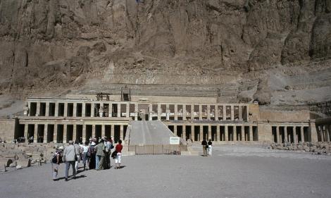 Theben-West: Tempel der Hatschepsut (1982)
