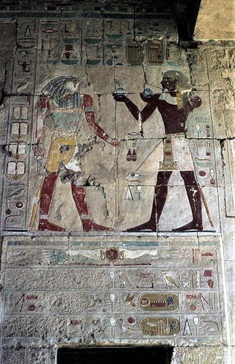 Theben-West: Tempel der Hatschepsut - Anubishalle (1982)