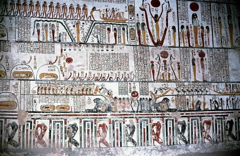 Theben-West: Tal der Könige - Grab Ramses VI. (1982)