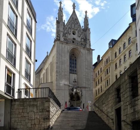 Wien: Kirche Maria am Gestade (2019)
