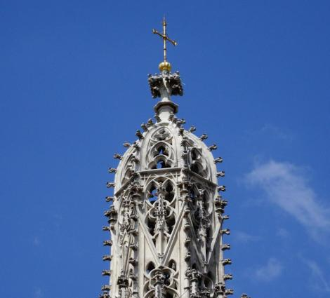Wien: Kirche Maria am Gestade - Turm (2019)
