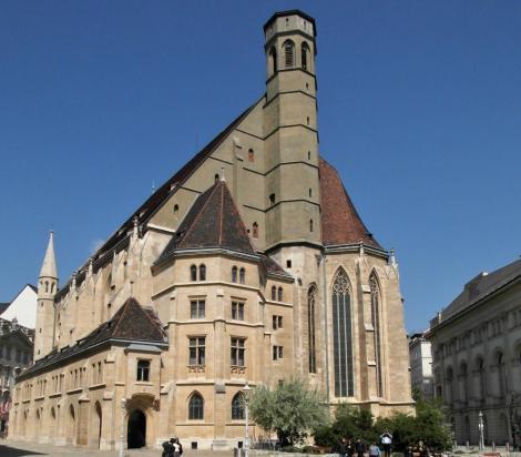 Wien: Minoritenkirche (2019)