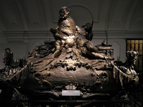 Wien: Kapuzinergruft - Sarkophag von Kaiser Karl VI. (2019)