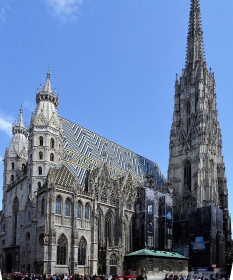 Wien: Stephansdom [Südwestansicht] (2019)
