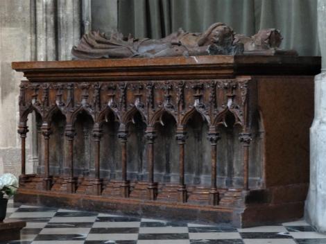 Wien: Stephansdom - Kenotaph Rudolfs IV., des Stifters (2019)