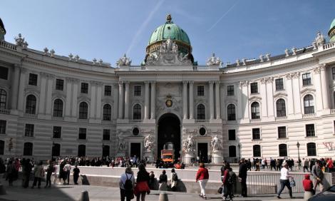 Wien: Hofburg - Michaelertrakt (2019)