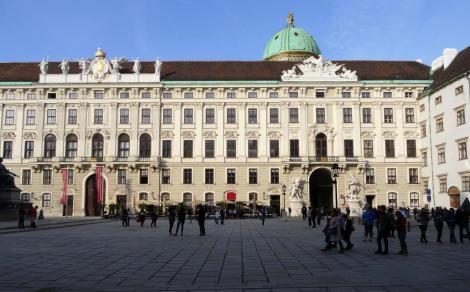 Wien: Hofburg - Reichskanzleitrakt (2019