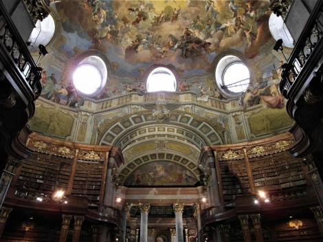 Wien: Hofburg - Nationalbibliothek Prunksaal (2019)