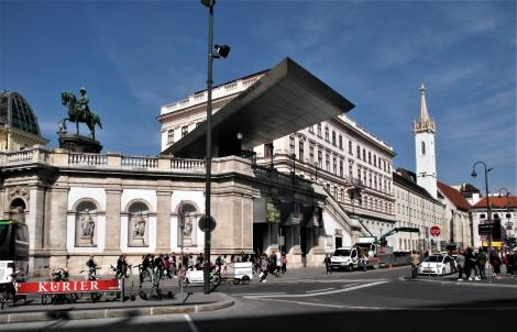 Wien: Albrechtsrampe - Albertina - Augustinerkirche (2019)