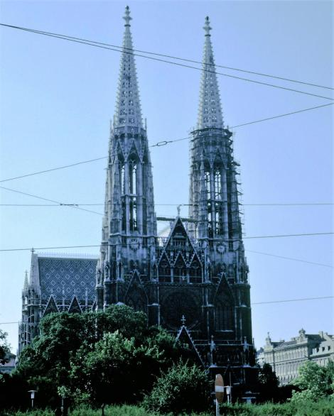 Wien: Votivkirche (1987)