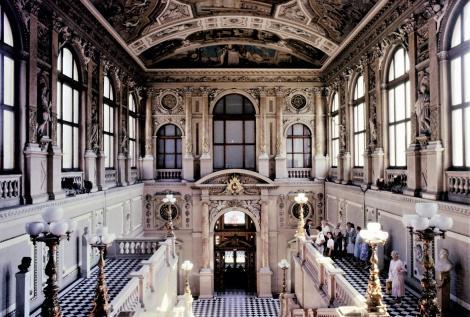 Wien: Burgtheater - Schauspielerstiege (1987)