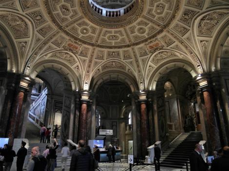 Wien: Kunsthistorisches Museum - Eingangsfoyer (2019)