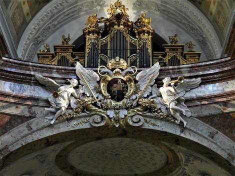 Wien: Karlskirche - Orgelempore (2019)