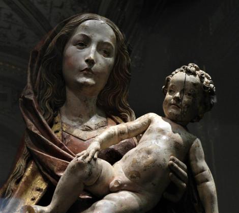 Kunsthistorisches Museum Wien: Tilmann Riemenschneider, Maria mit Kind [Lindenholz, Würzburg um 1500] (2019)