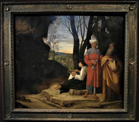 Kunsthistorisches Museum Wien: Giorgione, Die drei Philosophen (2019)