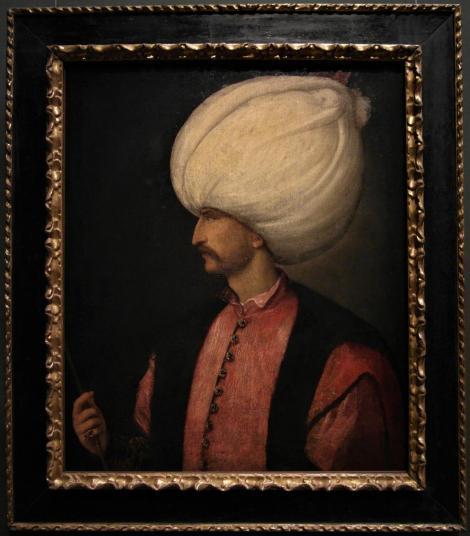 Kunsthistorisches Museum Wien: Sultan Suleiman II. [1495-1496-1566] venezianisch 16. Jh. (2019)