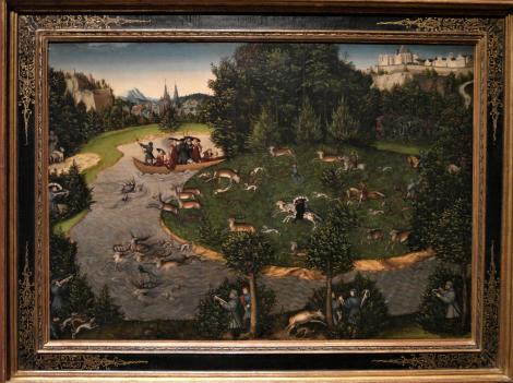 Kunsthistorisches Museum Wien: L. Cranach d. Ä., Hirschjagd des Kurfürsten Friedrich d. Weisen (2019)