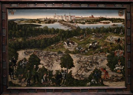 Kunsthistorisches Museum Wien: L. Cranach d. Ä., Hirschjagd des Kurfürsten Johann Friedrich (2019)