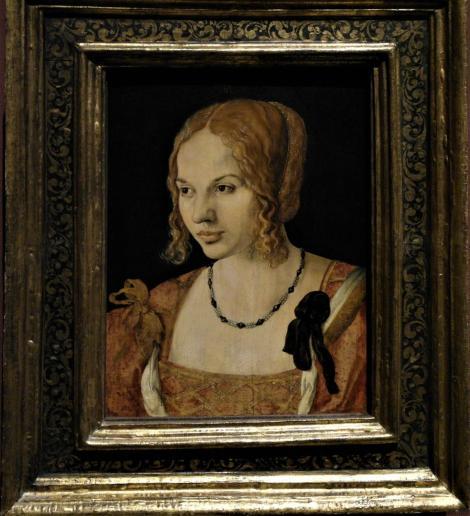 Kunsthistorisches Museum Wien: A. Dürer, Bildnis einer jungen Venezianerin (2019)