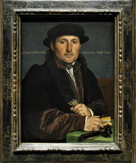 Kunsthistorisches Museum Wien: H. Holbein d. J., Bildnis eines jungen Kaufmanns (2019)