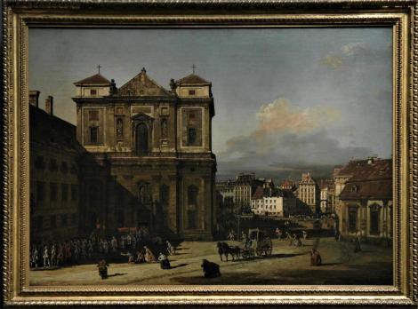 Kunsthistorisches Museum Wien: B. Bellotto, Die Freyung in Wien (2019)