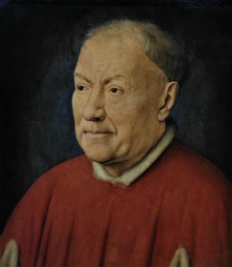 Kunsthistorisches Museum Wien: Jan van Eyck, Portrait des Kardinals Albergati (2019)