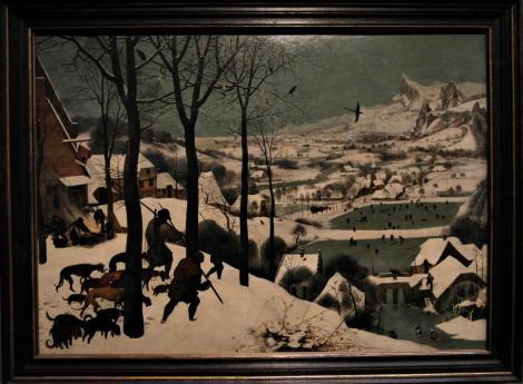 Kunsthistorisches Museum Wien: P. Brueghel d. Ä., Jäger im Schnee (2019)
