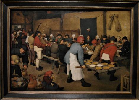 Kunsthistorisches Museum Wien: P. Brueghel d. Ä., Bauernhochzeit (2019)