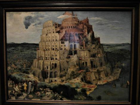 Kunsthistorisches Museum Wien: P. Brueghel d. Ä., Turmbau zu Babel (2019)