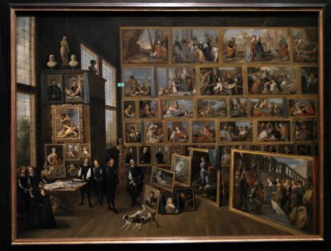 Kunsthistorisches Museum Wien: David Teniers d. J., Erzherzog Leopold Wilhelm in seiner Gemäldegalerie (2019)