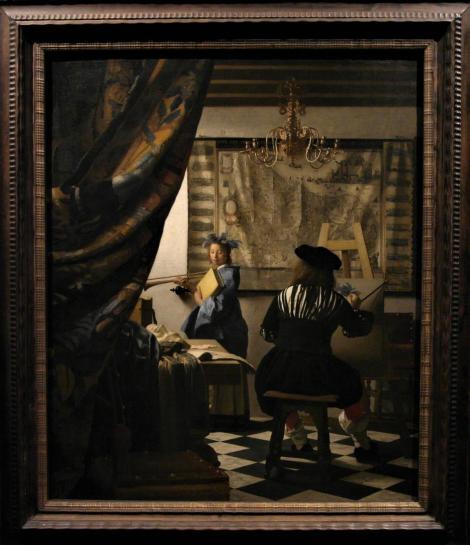 Kunsthistorisches Museum Wien: Vermeer van Delft, Die Malkunst (2019)