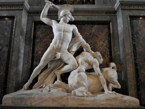 Kunsthistorisches Museum Wien: A. Canova Theseusgruppe [Theseus besiegt den Kentaur] (2019)