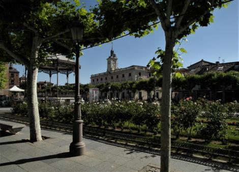 Alcalá de Hénares: Cervantesplatz (2019)