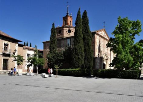 Alcalá de Hénares: Santa Maria [Turm] und Oidorkapelle [Taufkapelle von Cervantes] (2019)