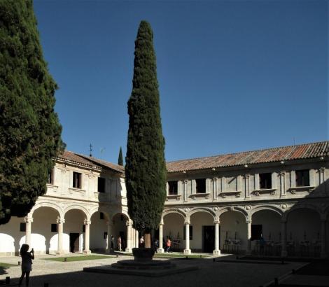 Alcalá de Hénares: Universität [Colegio Mayor San Ildefonso] - 3. Innenhof [Hof der drei Sprachen] (2019)