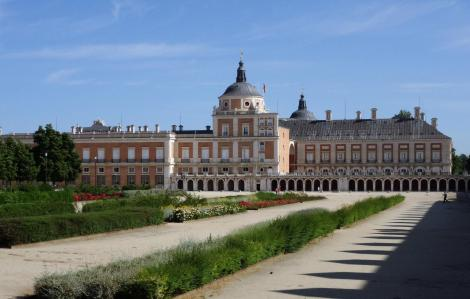 Aranjuez: Schloss [Südseite, Plaza de las Parejas] (2019)