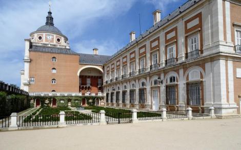 Aranjuez: Schloss [Ostseite] (2019)