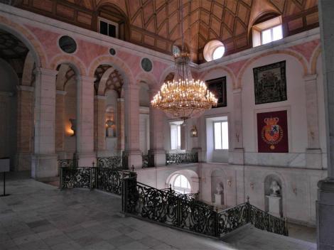 Aranjuez: Schloss - Treppenhaus (2019)