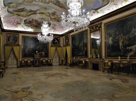 Aranjuez: Schloss - Speisesaal (2019)