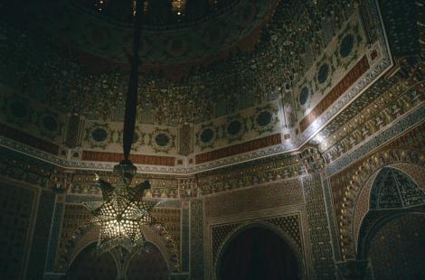 Aranjuez: Schloss - Arabischer Saal (1986)