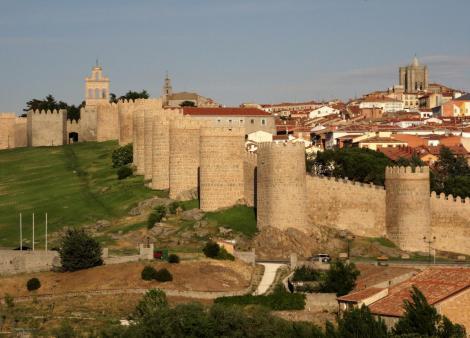 Avila: Blick auf die Stadtmauer (2019)