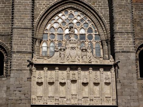 Avila: Kathedrale - Westfassade (2019)