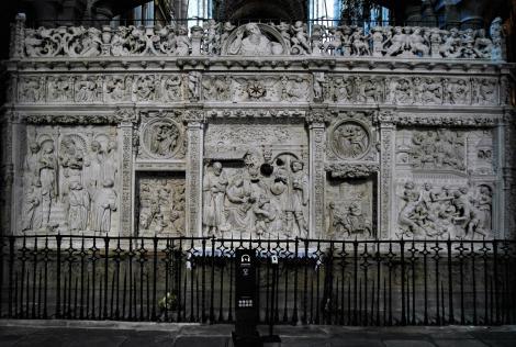 Avila: Kathedrale - Trascoro bzw. Lettner (2019)