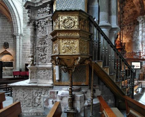 Avila: Kathedrale - Kanzel (2019)