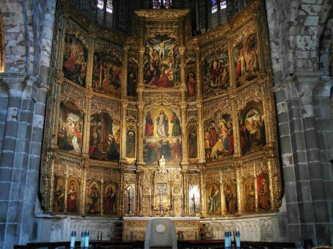 Avila: Kathedrale - Hauptaltar (2019)