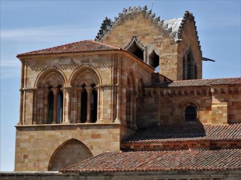 Avila: Kirche San Vicente - Westtürme (2019)