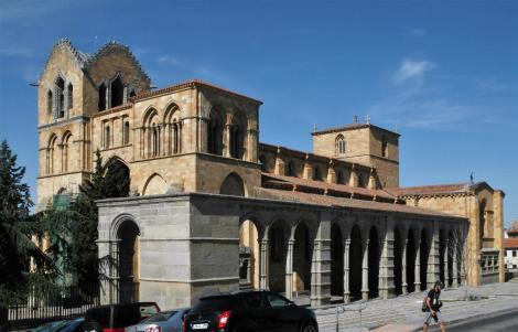 Avila: Kirche San Vicente - Südwestansicht (2019)