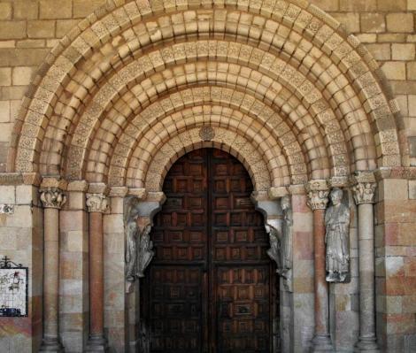 Avila: Kirche San Vicente - Südportal (2019)