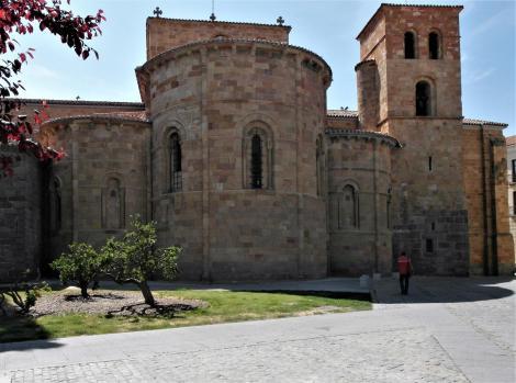 Avila: Kirche San Pedro - Apsiden (2019)
