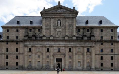 El Escorial: Klosterpalast - Hauptportal (2019)